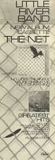 """4/6/83PN25 Advert: Little River Band New Album the Net & greatest Hits 15X5"""""""