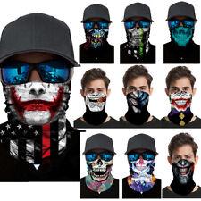Skull Tube Scarf Bandana Mouth Face Mask Neck Cover Gaiter Multi-use Head Wear