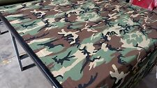 "Woodlands Ny/Co Ripstop Fabric 60""W Camo Fabric Camouflage Military Mil Spec"