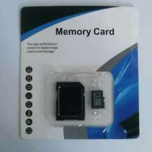 64GB MicroSD Card C10 TF Flash memory Card for Phone Camera Car Free Adapte