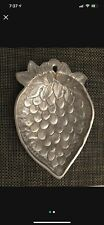 Decorative Metal Plate - strawberry
