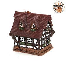 cerámica casa de velas lichterhaus Portavelas Modelo Casa De Madera 12cm 40519