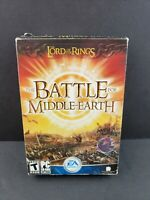 The Lord Of The Rings The Battle For Middle Earth PC Complete 4 Disc Game w/Key