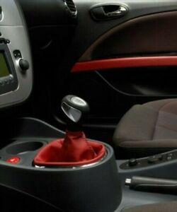 Original Seat Leon 1P Innendekorsatz in rotem Leder 1P0064301