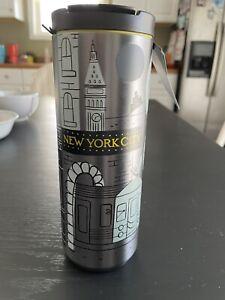 starbucks New York City tumbler 16 Fl Oz.