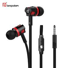 Super Bass In-Ear Kopfhörer Headset JM26 Schwarz Megabass für Samsung, LG, HTC