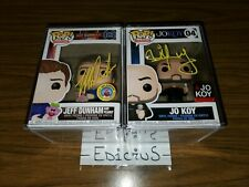 Funko Pop! Comedians Autographed Lot - Jeff Dunham Jo Koy Signed Rare