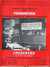 Le Film Français N°1509 (30/11/1973) Cosmovision