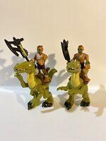 2015 Imaginext Dinosaur Riders lot  Raptor bundle