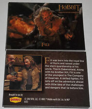 2012 Denny's The Hobbit Fili 1 Card - QTY Available