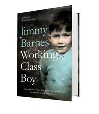 JIMMY BARNES SIGNED BOOK