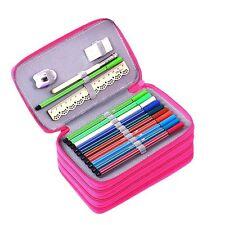 YIMOJI Super Large Pencil Case 72 Slots Multi-layer Students Stationary Case