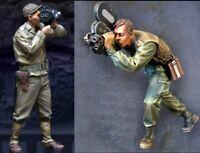 1/35 Resin Vietnam War US Military Cameraman 2 Set unpainted unassembled BL942