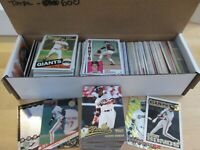 600 Card Giants Lot - 89 Barry Bonds Cards - Most Years Included (1984 - 2018)