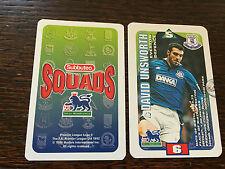 Subbuteo Squads 1996 Trading Card: Everton - DAVID UNSWORTH