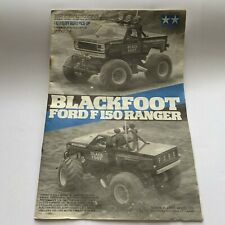 Tamiya Blackfoot Ford F150 Ranger 5858 Original Instruction Build Manual