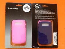 BlackBerry BOLD 9700/9780 Twin Pack Silicone Rubber Skin Case Cover Pink & Blue