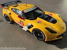 CARRERA DIGITAL 124 23818 Chevrolet Corvette C7 R No. 3  NEU STP FOTOS