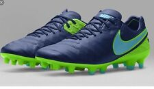 Nike Tiempo Legend V Fg Soccer Cleats Size 8.5 Msrp: $210 819177-443 Blue Green