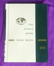 World Book Encyclopedia 2000 Year Book Hardcover History Review of Year 1999