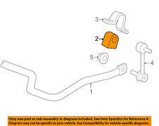 Hummer GM OEM 06-10 H3 Stabilizer Sway Bar-Rear-Bushings 15086904
