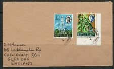 BIOT Cover 17.06.1969 Salomon Chagos to England Chippenham on back
