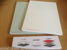 NEW Spellbinders GC-002 Grand Calibur A4 CUTTING & BASE PLATE Set + FREE TRAY