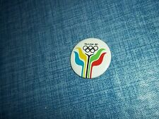 """1980 Moscow Tallinn Sailing Regatta 1 1/2"""" Button Made in the USSR by Norma LLB"""