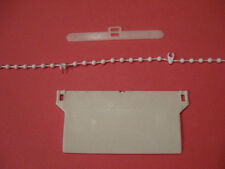 """89 mm ( 3.5"""") VERTICAL BLIND 20 WEIGHTS HANGERS & CHAINS BLINDS SPARES PARTS"""