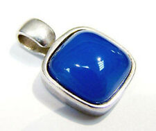 Schöner Silberanhänger s.Oliver mit blauem Stein 925er Silber Anhänger 2,1 cm