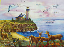 .PUZZLE.....JIGSAW...THOMPSON...Lighthouse Visitors......500pc..