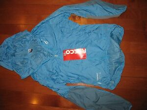 POC Resistance Mid Jacket Womens New Medium New with Tags - BLue