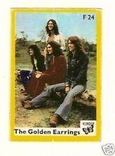 Golden Earring   .  Vintage 1960s Matchbox Label