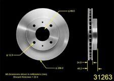 Disc Brake Rotor-ES Front Bendix PRT5460
