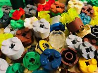 150 LEGO ROUND 2x2 BRICKS PLATES mixed color circle pillar Free shipping
