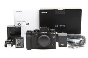 Fuji FUJIFILM X-T3 Mirrorless Digital Camera Body, Black (3198 Actuations) 33137