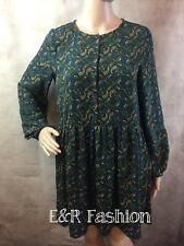Zara Paisley Patterned Dress Size Small B3 Ref 7521 276