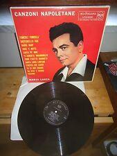 """Mario Lanza """"Canzoni Napoletane"""" LP RCA Victor Red Seal – LPM 10051 ITA 1959"""