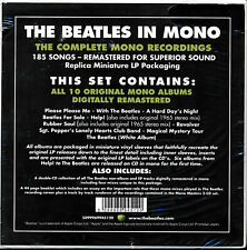 The Beatles in Mono box set NEW and sealed 10 original mono albums remastered