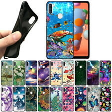 """For Samsung Galaxy A11 6.4"""" 2020 TPU Black Silicone Soft Case Protector Cover"""