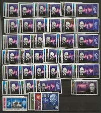 OMNIBUS  1965/7 CHURCHILL 36 DIFFERENT SETS (141 STAMPS)  SUPERB  UNMOUNTED MINT