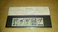 Diana Princess of Wales 1961-1997 - Set of Commemorative Royal Mail Stamps
