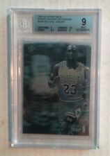 1991-92 Upper Deck Award Winner Hologram #AW4 Michael Jordan BGS Graded Mint 9