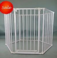 8 or 6 Panels Heavy Duty Pink Metal Baby Dog Pet Playard Playpen Pen Gate Fence