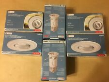 "6 - Utilitech White 3"" Fluorescent Remodel Recessed Lighting Kit Bulb Included"
