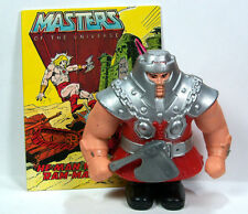 Masters of Universe MOTU HE-MAN Mattel Action Figure 1982 RAM MAN w/ Mini Comic