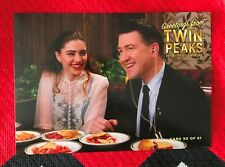 Twin Peaks Gold Box postcard Shelly Johnson Gordon Cole #50 Mint condition