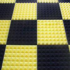 Acoustic Wall Panels PVC Studio Sound-Proof Foam Wedge Pads Tiles 30 X 30CM