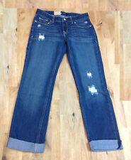 Levi's Boyfriend Stretch Regular Fit Adjustable Waistband Skinny Jeans, Indigo.