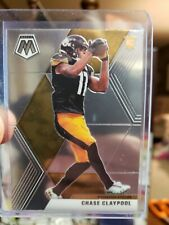 2020 Panini Mosaic Chase Claypool Base RC Pittsburgh Steelers #220 Rookie 🔲⭐